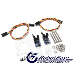 arduino 光电码盘 光电测速传感器 4wd 机器人.