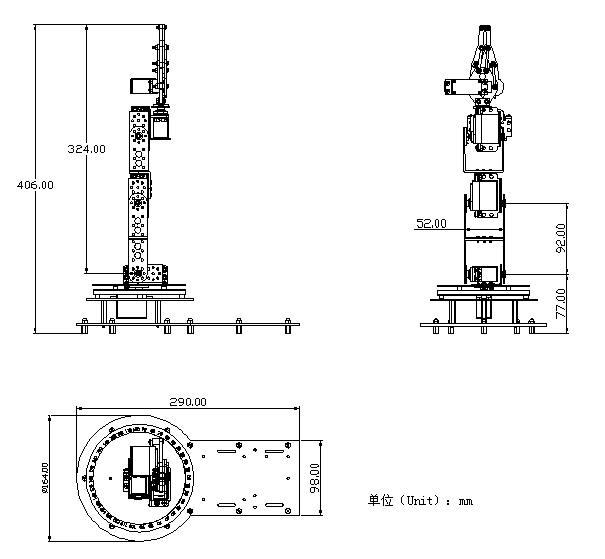 机械臂工程图纸